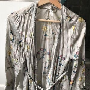 Gorgeous silk robe